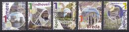Nederland - Mooi Nederland 2011 - Gebruikt/gebraucht/used - NVPH 2789A/2790A/2813A/2814A/2821A - Gebraucht