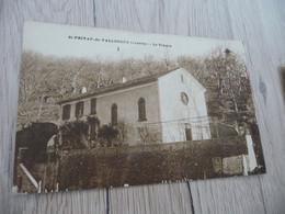 CPA 48 Lozère Saint Privat De Vallongue Le Temple - Andere Gemeenten