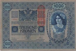 Empire Allemand-Autrichien : 1000 Kronen 1902 + 1000 Kronen 1922 - Verzamelingen