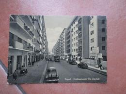 1956 VOMERO Prolungamento Via Scarlatti Attualmente Via CILEA Animata Macchine Epoca - Napoli (Naples)