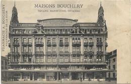 Oostende   *  Maisons Bouchery - Pharmacie  (Square Marie-José)  Pharmacien De La Cour - Oostende