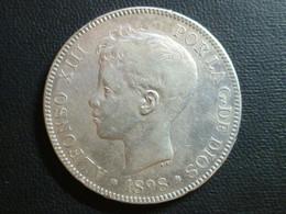 Spagna - Alfonso XIII - 5 Pesetas 1898 (98) - KM# 707 - Altri
