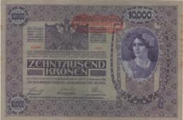 Empire Allemand-Autrichien : 10000 Kronen Originellement 1918 - Verzamelingen