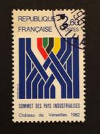 Timbre 2214 Sommet Des Pays Industrialisés Oblitéré - Usados