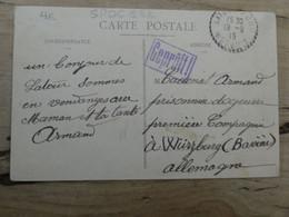 Carte Postale De LA TOUR SUR ORB Envoyée Au Camp De WURZBURG En 1915 ................ 1052 - Guerra 1914-18