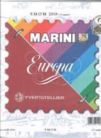 FOGLI AGGIORNAMENTO MARINI SOVRANO MILITARE ORDINE DI MALTA S.M.O.M. 2018 NUOVI IN CONF. ORIGINALE - Stamp Boxes