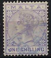 MALTE: Le  Y&T 10 Obl. CAD - Malte (...-1964)