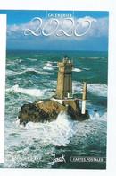 "CALENDRIER DE POCHE 2 VOLETS "" JACK "" 2020 ( Voir Recto/verso) - Small : 2001-..."