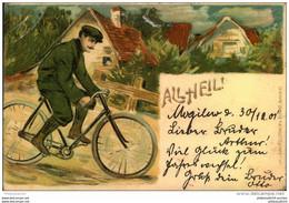 1901, All Heil, Geschrieben In MOGLINO Nach Wongrowitz - Cycling