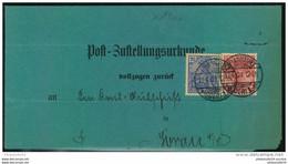 1901, FRANKURT (ODER) 1, Zustellung 10 Und 20 Pfg. Germania Reichspost - Cartas