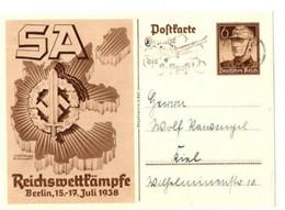 POSTKARTE - S A - Reichswettkämpfe Berlin 15/17 Juli 1938 - Historia