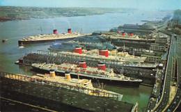 New York Passagiersschepen O.a Holland Amerika Lijn T4 - Passagiersschepen