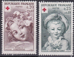 France TUC De 1962 YT 1366-1367 Neufs - Non Classificati