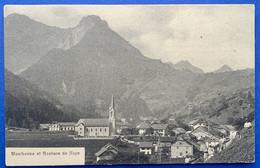 GRUYERES: MONTBOVON 1906. BELLE VUE GENERALE... PARFAIT ETAT - FR Fribourg
