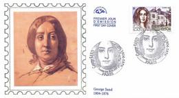 Enveloppe 1er Jour George Sand, 2004 (YT 3645) - 2000-2009