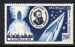 Monaco PA  N° 60 X  Cinquantenaire De La Mort De Jules Vernes Trace De Charnière Sinon TB - Airmail