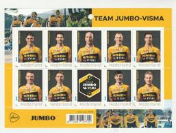 Nederland 2020 POSTZEGELVEL Wielrennen Team Jumbo Visma Tour De France-giro De Italia (NL) - Non Classés