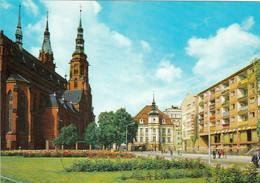 3 AK Polen * 3 Ansichten Der Stadt Legnica - Die Kathedrale St. Peter Und Paul Und Die Heringsbuden - Erb. Im 16. Jh. * - Poland