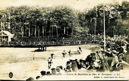 12871 Finistére -   MORLAIX  :  Course De Bicyclettes Au Parc De Kernégues    Circulée En  Voir Dos - Morlaix