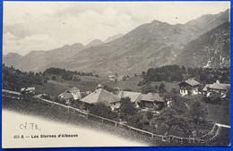 GRUYERES:  LES SIERNES D'ALBEUVE... BELLE VUE - FR Fribourg