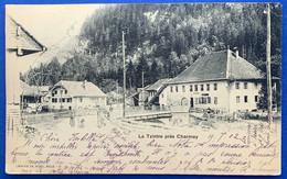 GRUYERES:  1902 LA TZINTRE PRES DE CHARMEY... ANIMATION - FR Fribourg