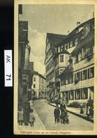 AK071, Tübingen, Altstadt, Haaggasse - Tuebingen