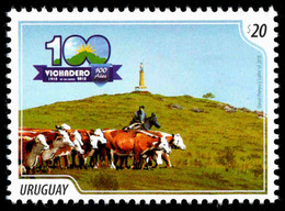 Uruguay - Cows, Stamp, MINT, 2018 - Hoftiere