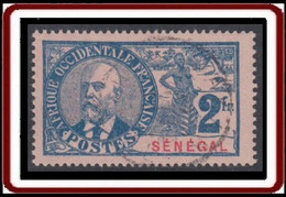 Sénégal 1887-1906 - N° 45 (YT) N° 46 (AM) Oblitéré. - Used Stamps
