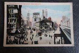 CPA - Herald Square - New York City - 1921 - Lugares Y Plazas