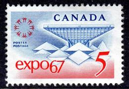 CANADA - 1967 WORLD FAIR EXPO STAMP FINE MNH ** SG 611 - Nuevos