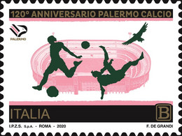 Italia Repubblica 2020 Palermo Football Club S.p.A. 1,10 MNH** Integro - 2011-...: Mint/hinged