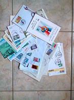 Lot 1er Jour 117 Documents Entre 1968 Et 2012 - Ohne Zuordnung