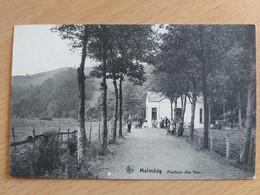 Malmédy Pouhon Des Iles (cachet Poste De Malmedy 25/09/1928) - Malmedy