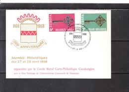 1452/3 Europa 1968 Belgique - 1961-70
