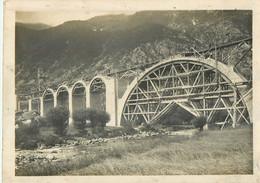 09 ARIEGE  TRANSPYRENEEN Construction  Les Ponts Pont   Photo Format 230 X 180 2scans - Non Classificati