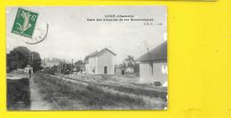 LUXE Gare Des Chemins De Fer Econonomiques (JSD) Charente (16) - Altri Comuni