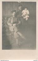 Carte-Photo : Portrait Militaires - SOUSSE (Tunisie) - Tirailleur (31/12/1917) (BP) - Guerra, Militares