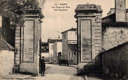 52 WASSY  Les Portes De Ville  Rue Chanlaire - Wassy