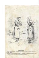 """CPA ILLUSTRATEUR CHARENTAIS  A.DUCHÊNE   Au Village  """" Juyette """"  Voyagée  1910 - Altre Illustrazioni"""
