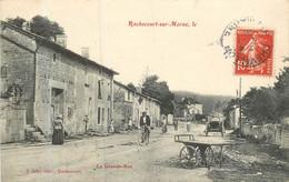 RACHECOURT Sur MARNE La Grande Rue - Sonstige Gemeinden