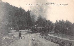 Auvergne - Pays De Dôme - Le Chemin De Fer à L'arrêt Du COL De CEYSSAT - (1238) - Ohne Zuordnung