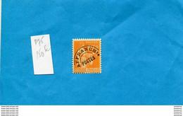 Type Paix * Préoblitéré N°75** 80c Orange--neuf Sans Ch-impec Cote 150 Eu-présenté Recto Verso - 1893-1947