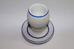 Rare Pyrogène En Porcelaine De Tournai XIXème - Doornik (BEL)