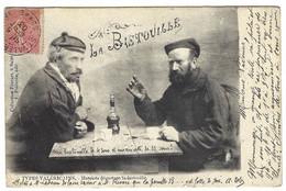 SAINT VALERY SUR SOMME (80) - TYPES VALERICAINS - Matelots Dégustant La Bistouille - Ed. F. Poidevin - Saint Valery Sur Somme