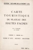 HAUTES FAGNES / VESDRE Et GETZ  - HOSCHEIT - BRACKVENN  1963 - Unclassified