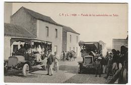 CANARIAS Parada De Los AUTOMÓVILES En TELDE Animación Old Cars In Canary Islands C.A. Y L. 1429 - Other