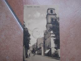 SORRENTO Corso Duomo Timbro Hotel Vittoria Sorrento 1913 Timbro Arrivo - Napoli (Napels)