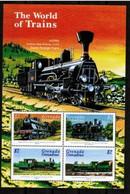 Grenade Grenadines Trains MNH - Trains