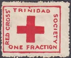 Trinidad And Tobago, Scott #B1, Mint Hinged, Red Cross, Issued 1914 - Trinidad En Tobago (...-1961)