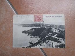 1909 BAIA Il Capo Miseno Veduta Dal Castello  Edit. Cotini Carlo Napoli Timbro Arrivo - Napoli (Naples)